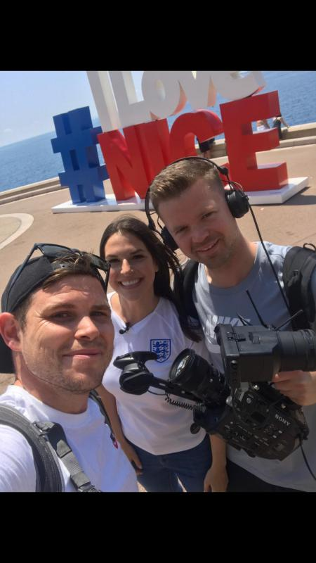 Filming for England Women's Football 'Lionesses Daily'