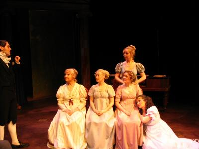 Kitty in Pride and Prejudice - Good Company National Tour
