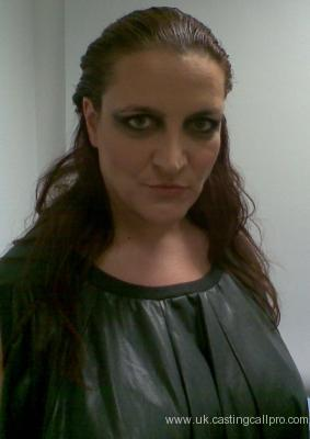 Lucy Christy, magazine photoshoot for Medea Redux