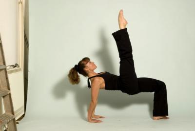 Yoga body shoot