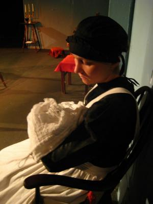 "As 'Elsa' in ""A Madman's Confession"""