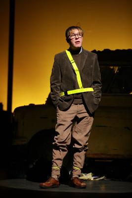 As 'Alan Bennett 2' in 'The Lady in the Van', Gala Theatre Durham