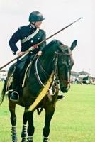 Major Michael Aston CMOF during public military show display