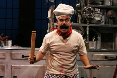The Witches, Birmingham Rep- Kitchen Truck and dressing