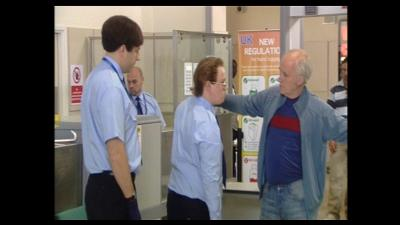 `Come Fly With Me` (BBC) - Role: Airport Passenger