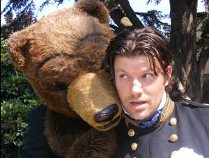 Exit pursued by a bear-Cambridge Shakespeare Festival