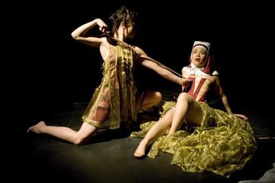 Maya Sapone as Theresa in Ecstasy in Baroccata