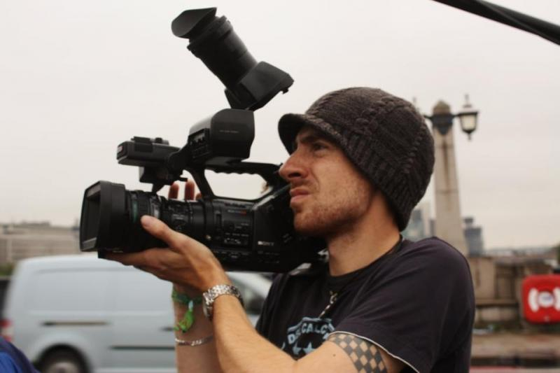 Shooting behind the scenes documentary for 4music and Tuborg Beer with the EX-3
