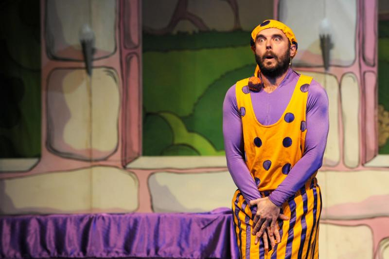 King Bumble in Sleeping Beauty, The Roses, Tewkesbury
