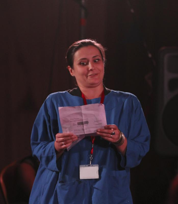 Katy Slater as Holly in Sherica - Best of the Fringe - Manchester Theatre Awards