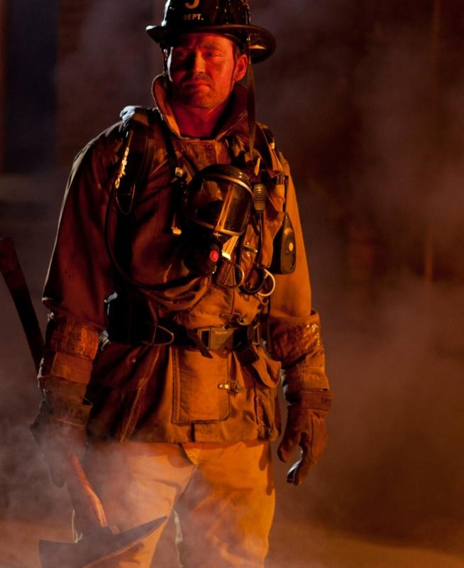 U.S.A Firefighter for Deodorant Commercial