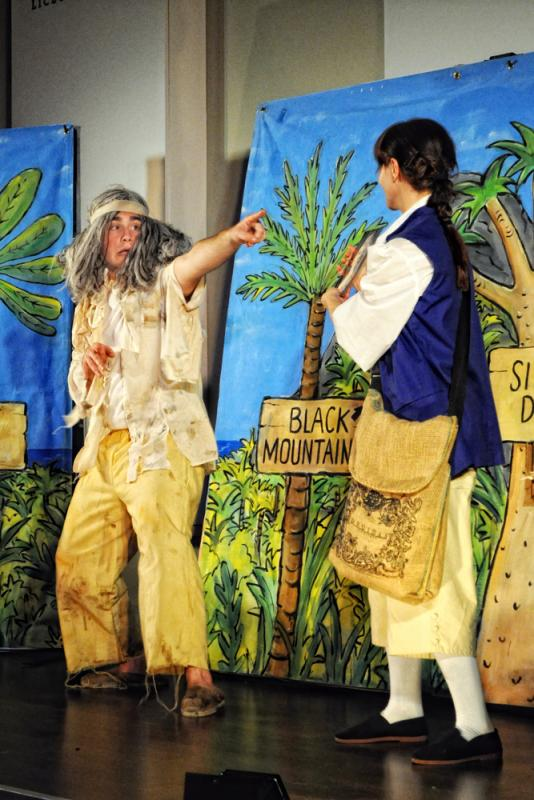 Treasure Island, Adam as Ben Gunn