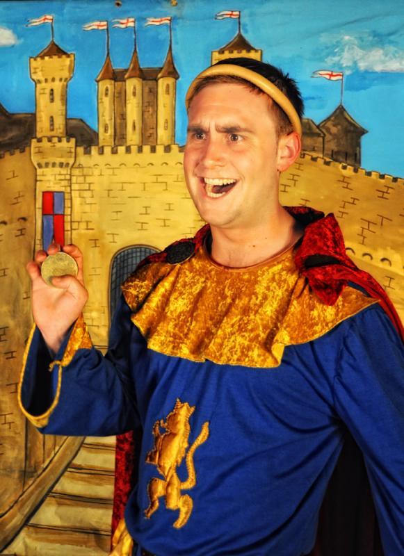 Robin Hood, Adam as The Sheriff of Nottingham