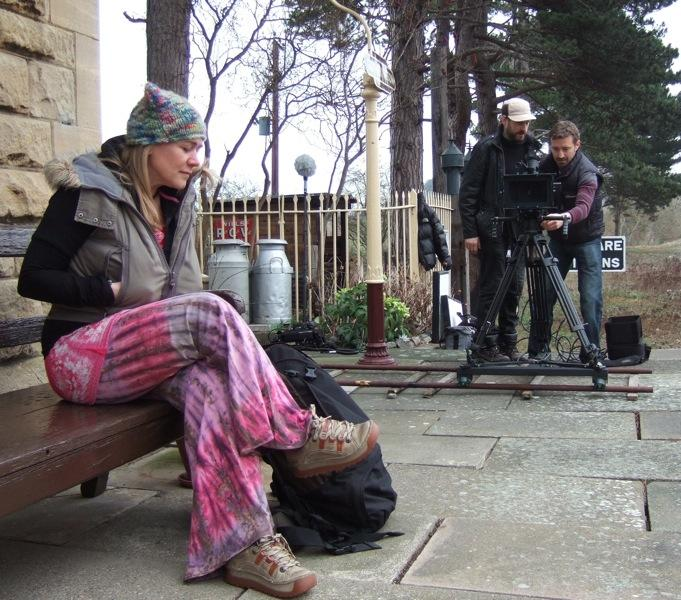 Filming 'Stuck'