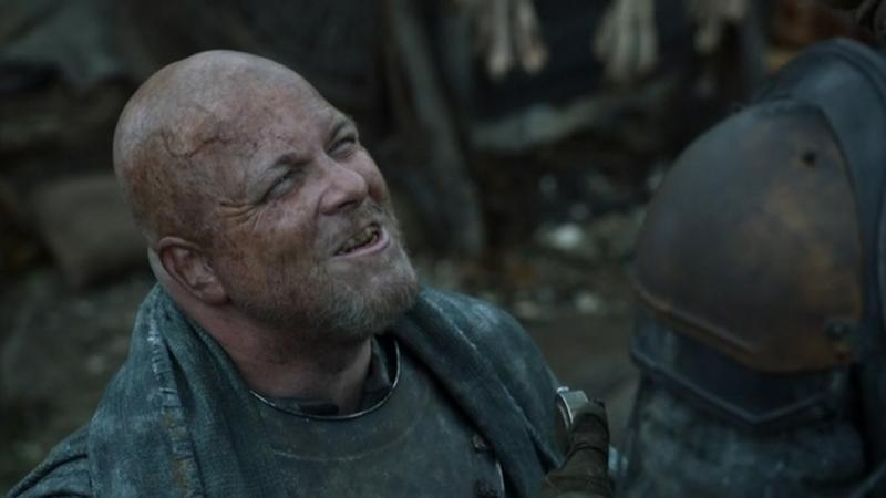 Playing Lorren in Game of Thrones (S2E5)