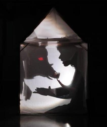 Essential Spaces - shadow puppets