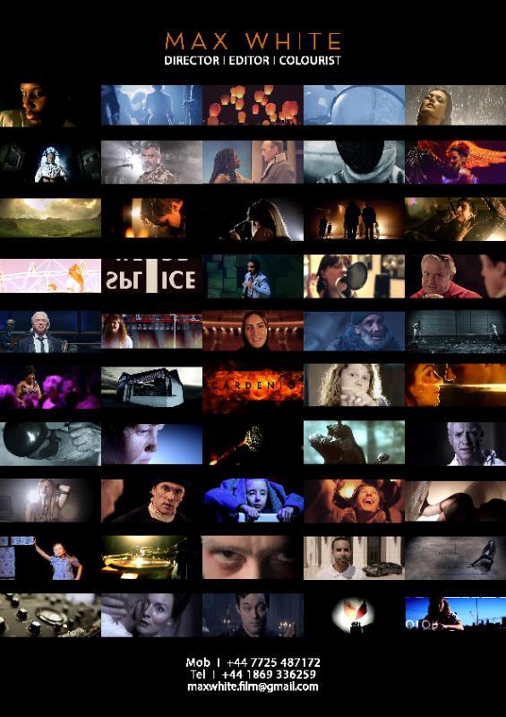 Max White Director/Editor/Colourist