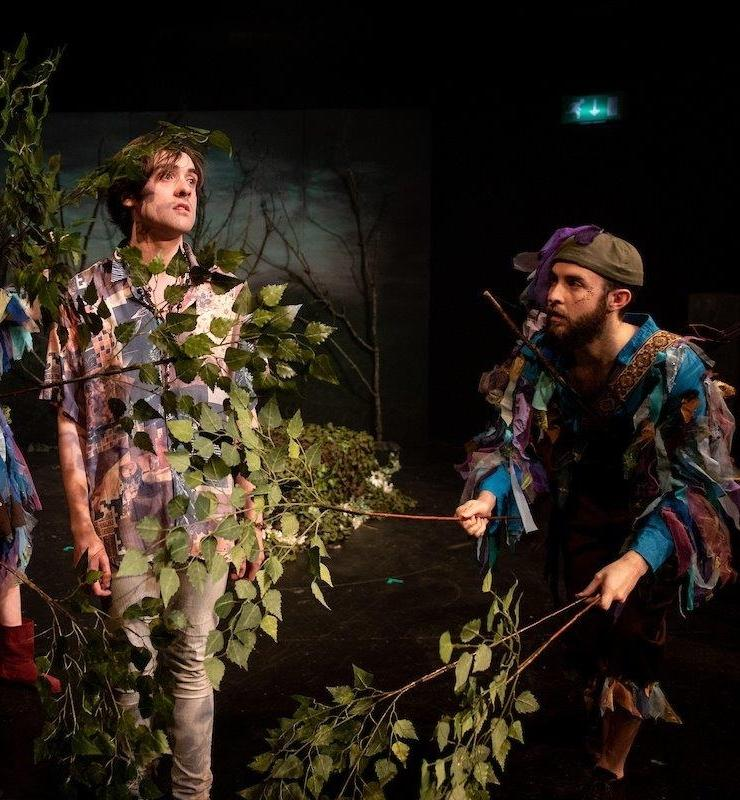Playing a Fairy in A Midsummer Night's Dream at The Crescent Theatre