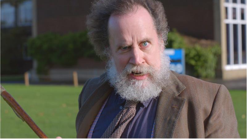 Albert Clogston as Gandalf Dad in, Lycra Dad.