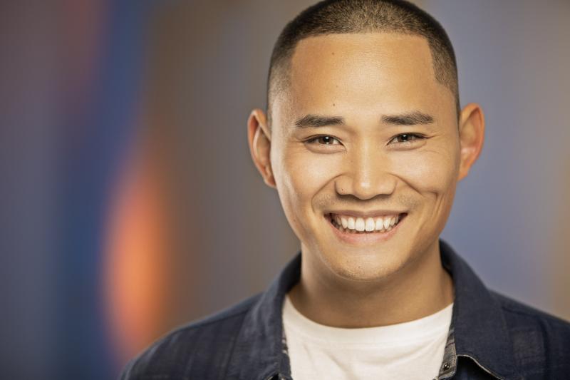 David Cheung Teeth Smile