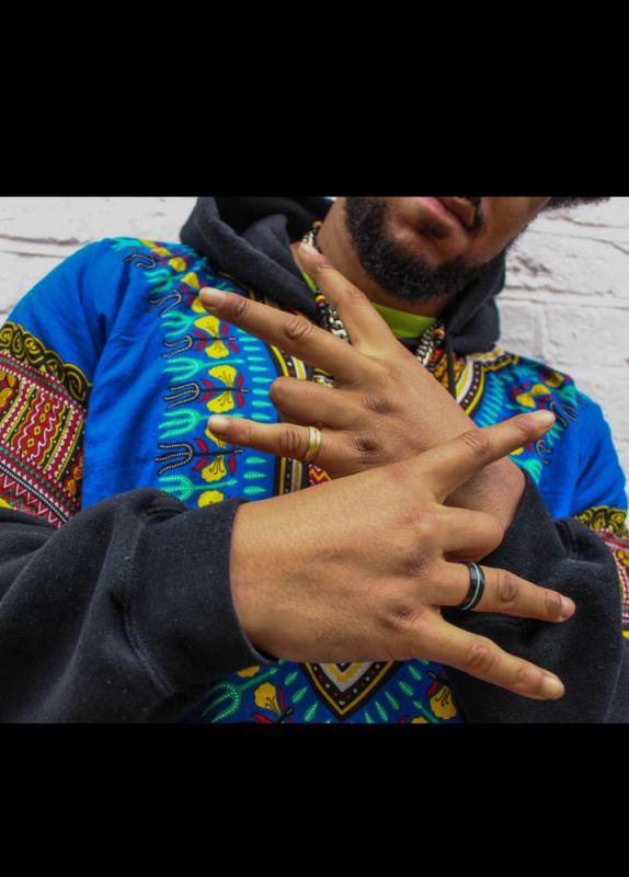 Mansa Collection ring on hands