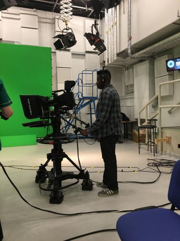 Television Camera Operator