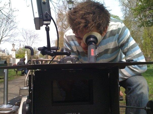 On set shoot with the SR3 and Kodak super 16mm