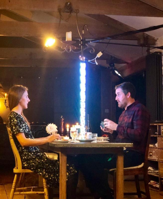 As 'Romantic Man' in Q Cards Kickstarter Promo