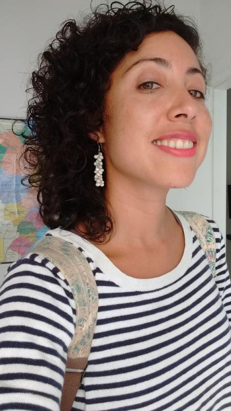 Happy Mariela working in Rio de Janeiro!