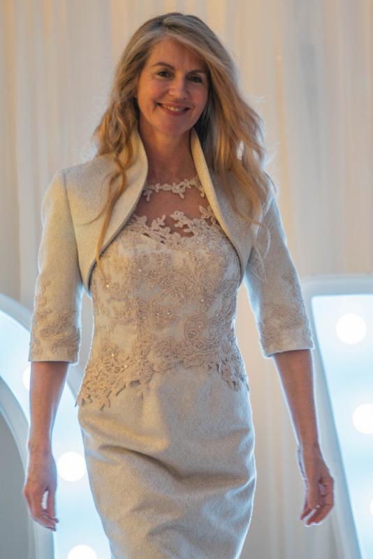 Model wedding fashion show