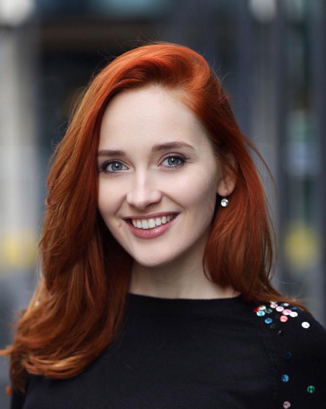 Headshot Red Hair smiling