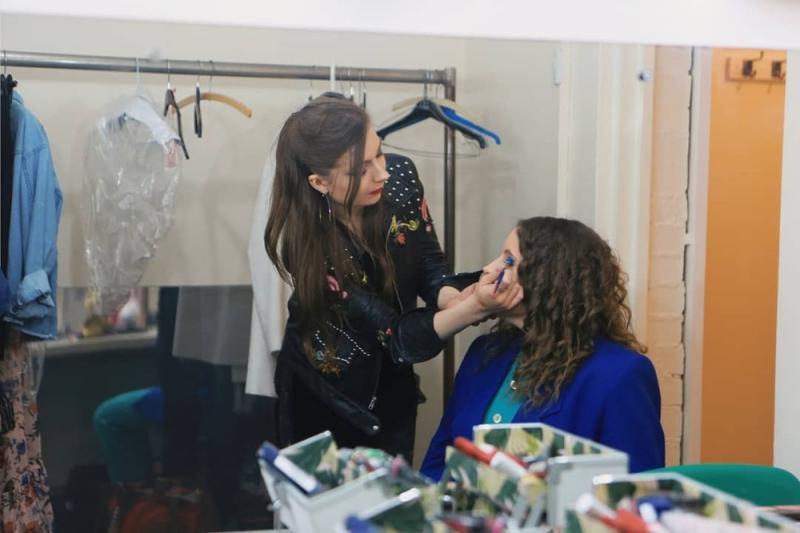 Behind the scenes at Highbury theatre