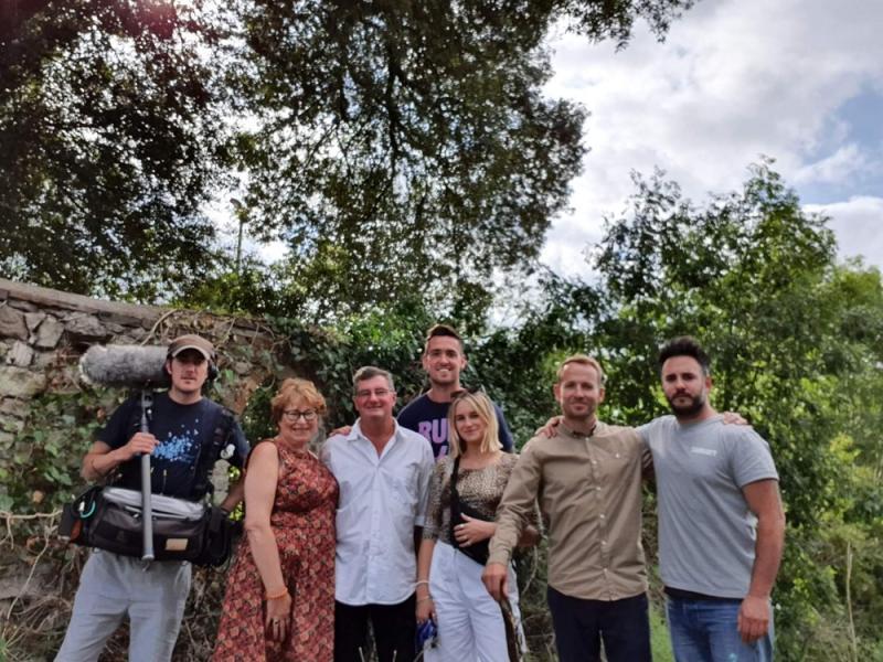 BBC Escape To The Perfect Town Crew