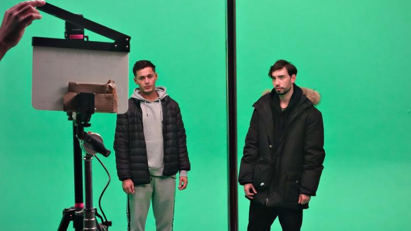 Green Screen Work for Virtual Reality Shoot 1