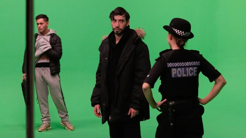Green Screen Work for Virtual Reality Shoot 2