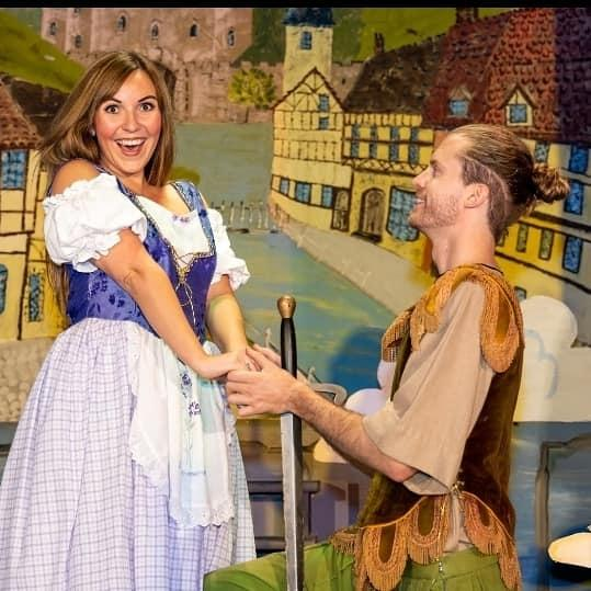As Princess Jill in Jack and the Beanstalk