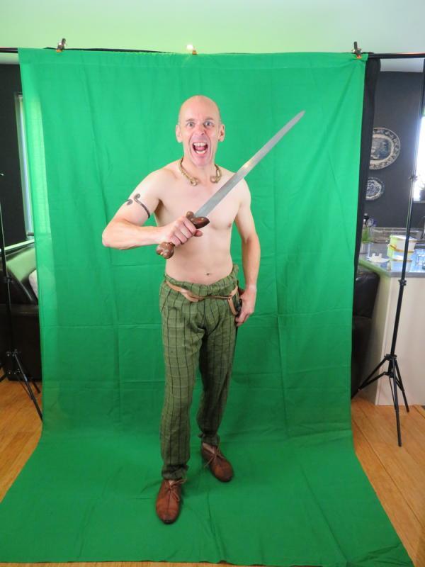 Iron Age Celtic Warrior costume