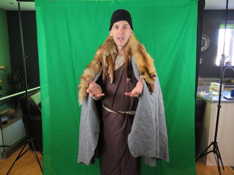 Bronze Age trader costume