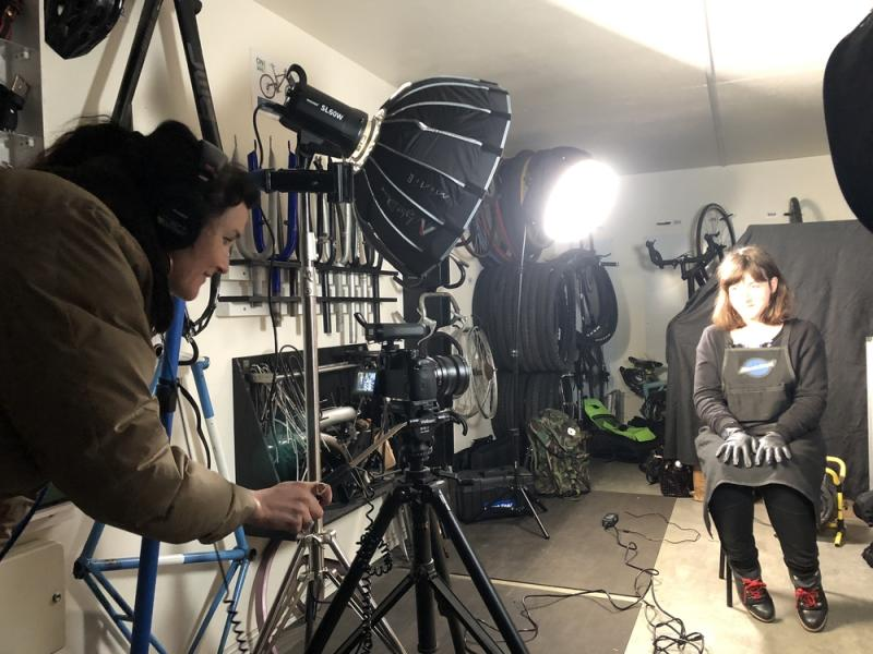 On Pro Bike shoot