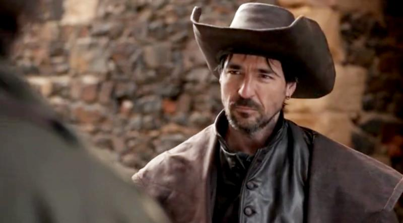 still from BBC Musketeers