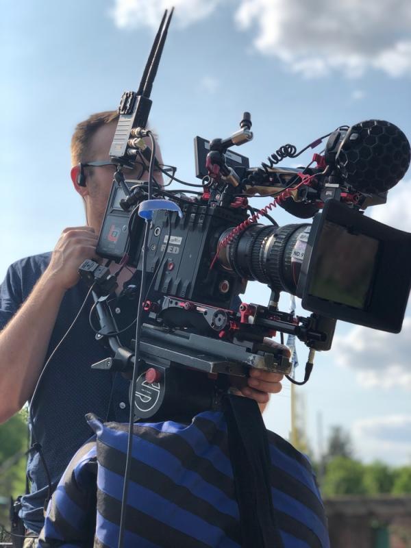 Filming for Framed Bikes x MLB