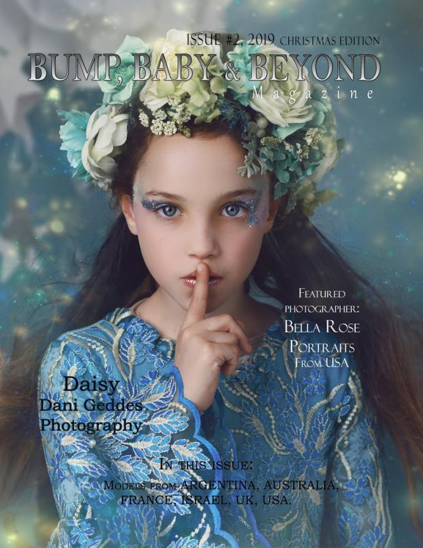 Front Cover - Bump, Baby & Beyond Magazine