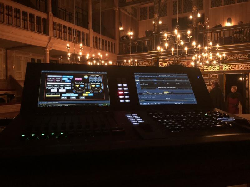 Edward II Tech Session - Sam Wannamaker Playhouse