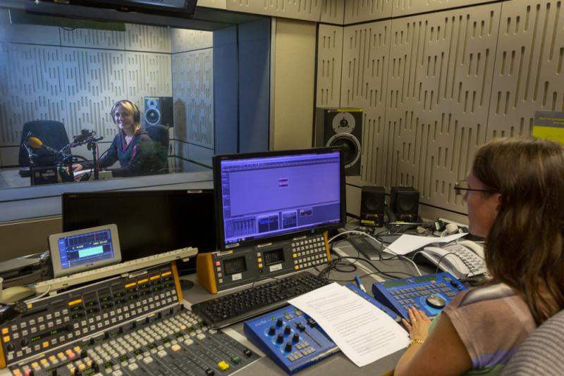 BBC recording booth