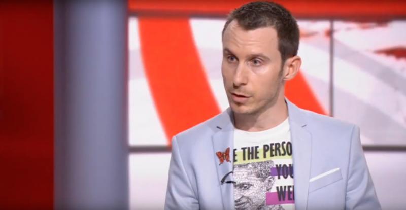 Me speaking live on BBC News 24