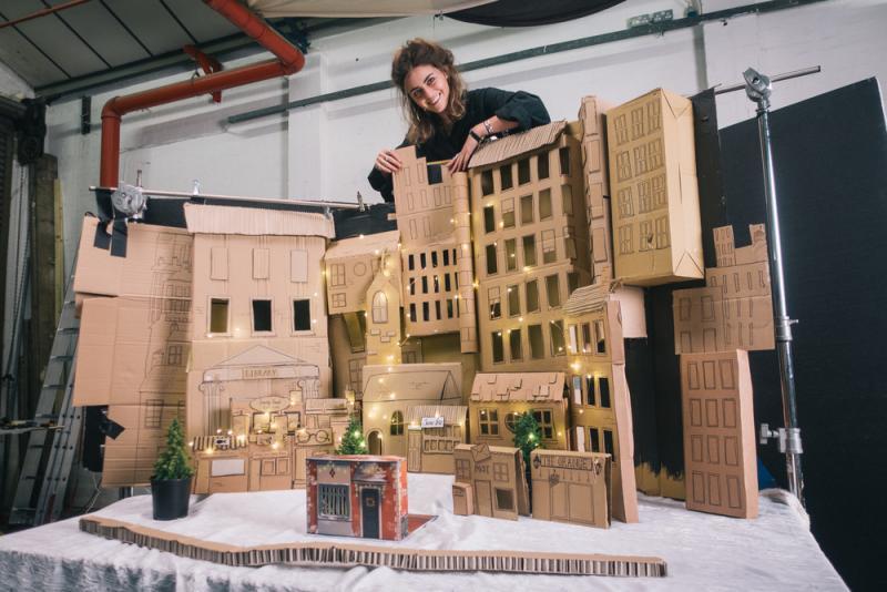 Set building