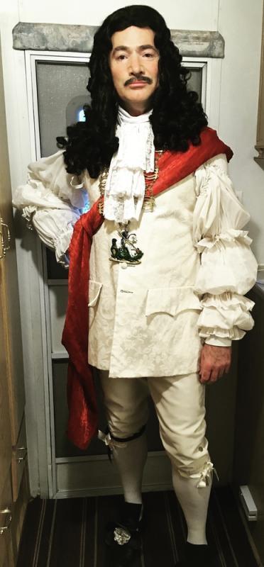 King Charles II, in The Windsors