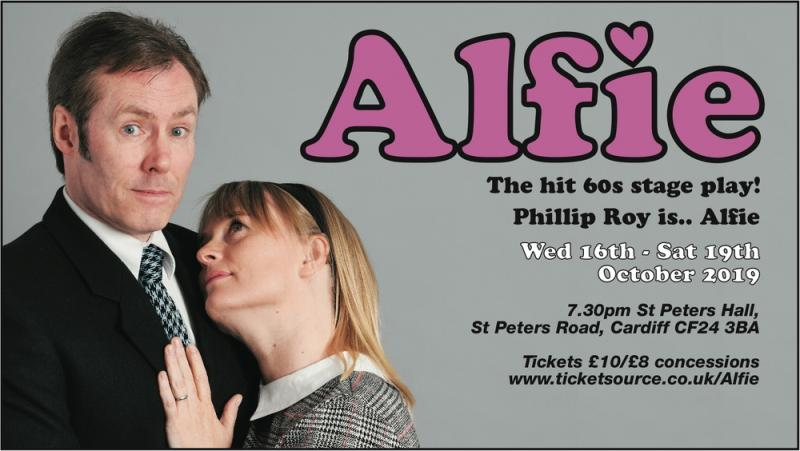 'Alfie' stage play promo