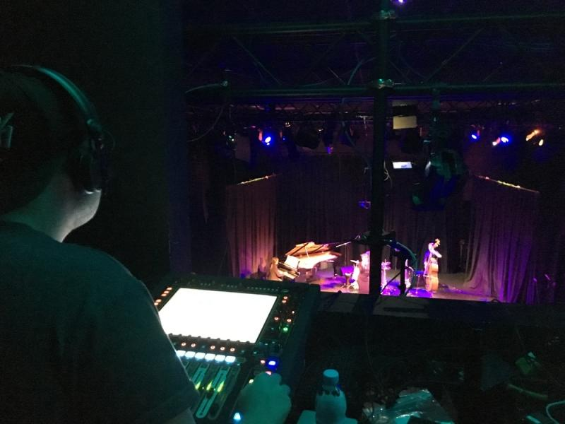 An evening of Jazz at LCM (Digico SD11)