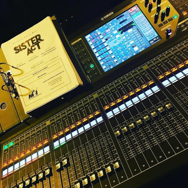 "Sound Designer ""Sister Act"" (Yamaha QL5)"